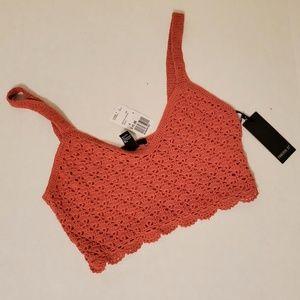 Forever 21 Tops - Forever 21 Crochet Crop